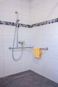 Dusche Barrierefrei Apartment Citrin - Pension-Wildau