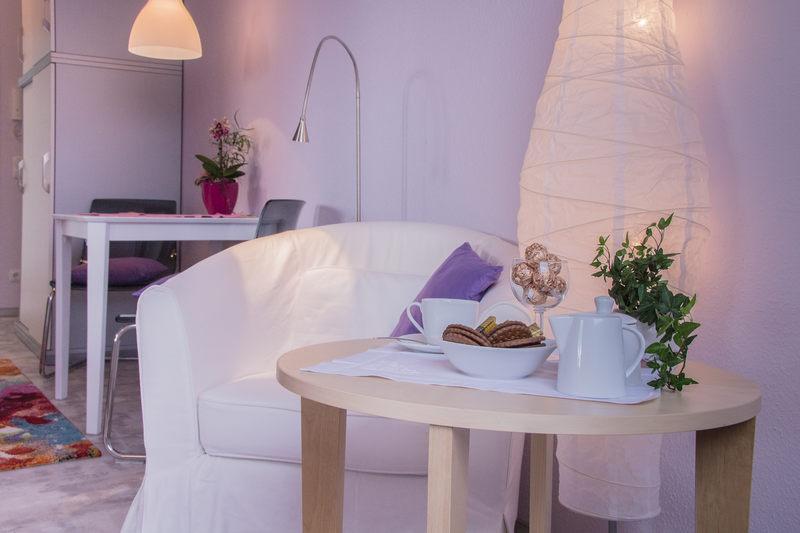 Wohlfühlbereich Apartment Amethyst - Pension-Wildau