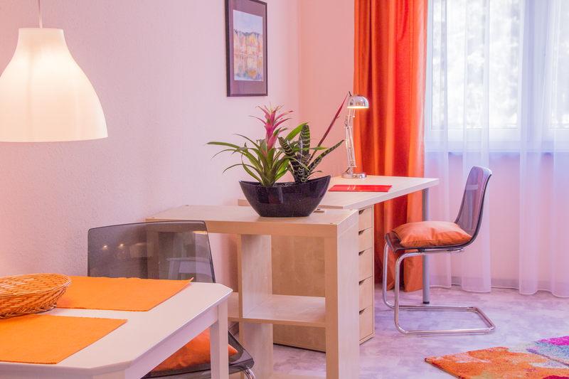 Arbeitsbereich Apartment Bernstein - Pension-Wildau
