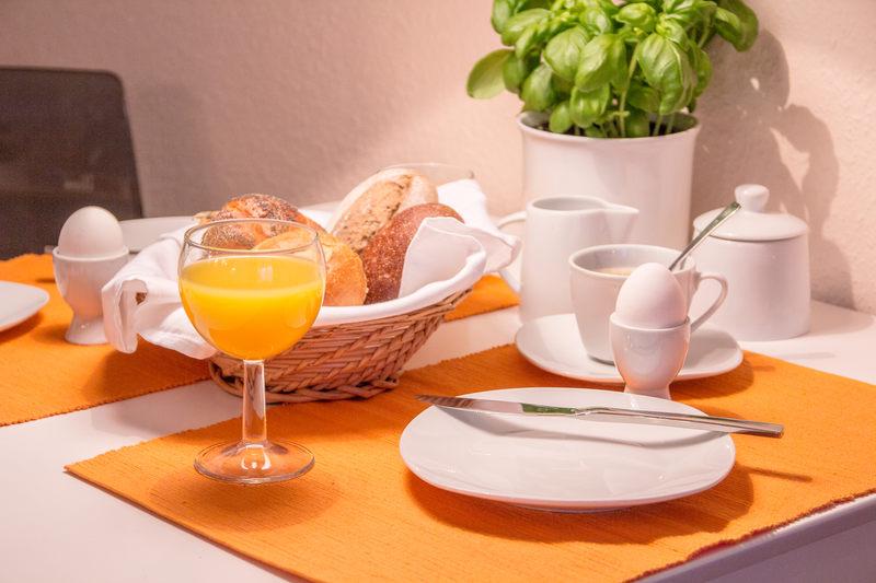 Frühstück Apartment Bernstein - Pension-Wildau