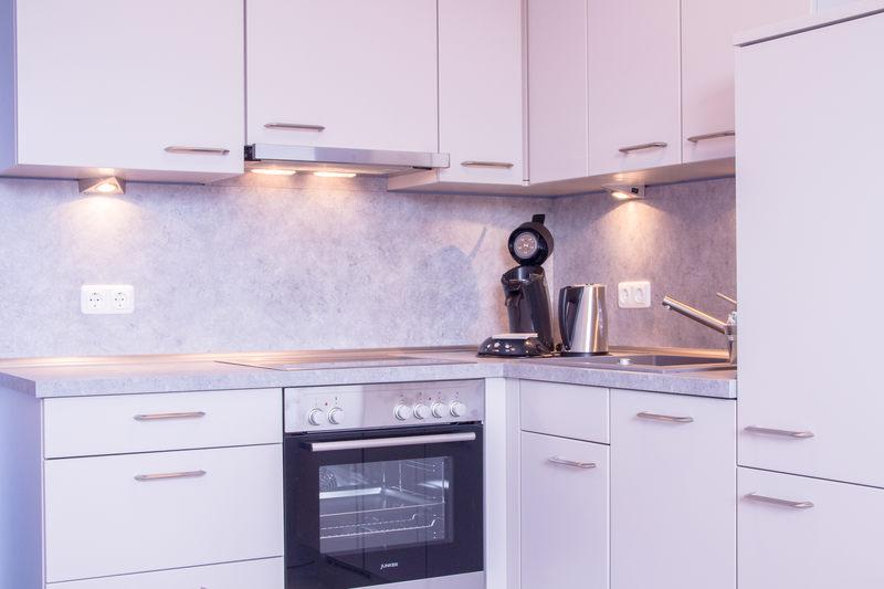 Küchenzeile Apartment Saphir - Pension-Wildau